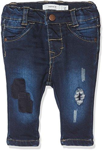NAME IT Baby-Mädchen NITBAWAIT Slim DNM Pant BRU F NB Jeans, Blau (Dark Blue Denim), 80