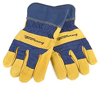 Forney Pigskin Leather Palm Premium Lined Men's Work Gloves