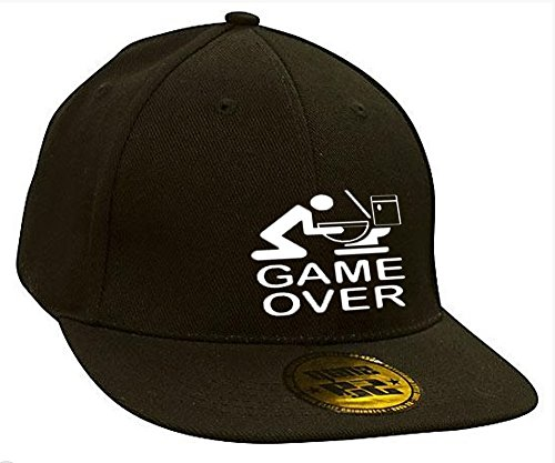 Bonnet Casquette Snapback Baseball Game Over Restroom Hip-Hop Rich Bad Hair Day