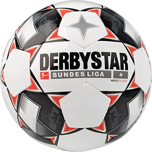 Derbystar Bundesliga Magic S-Light, 5, weiß schwarz rot, 1862500123