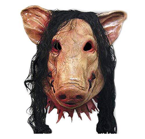 Songlin@yuan Gezichtsmasker, creatief dier-gezichtsmasker, van latex, grappig materiaal, Halloween