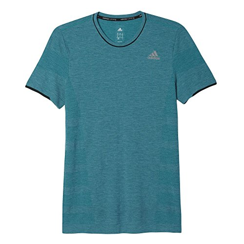 adidas Herren T-Shirt AS Primeknit M, Grün, XS