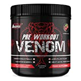 Pre Workout Venom 'Cherry Cola' - Pump Pre Workout Supplement by Freak Athletics