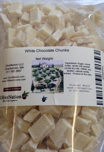 Callebaut White Chocolate Chunks from OliveNation - 16 ounces