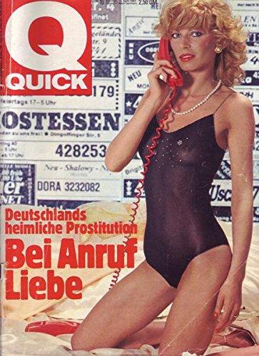 Quick Nr. 16/1983 14.04.1983 Deutschlands heimliche Prostitution Bei Anruf Liebe