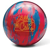 DV8 Alley Cat PRE-DRILLED Bowling Ball- Red Electric Blue