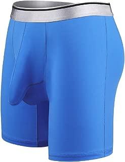 Men's Fashion Soft Boxer Briefs with Comfortable Waistband Underwear