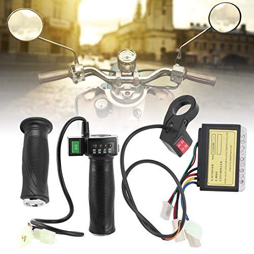 LAJS Juego de Controlador de Scooter, Controlador Cepillado de 3 Cables confiable para Bicicletas eléctricas para Scooters eléctricos