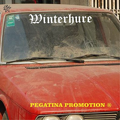 Cooler 'Winterhure Altdeutsch Aufkleber ca. 70 cm' von Pegatina Promotion Aufkleber mit...