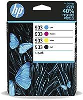 HP 6ZC73AE 903 Original Ink Cartridges, Black/Cyan/Magenta/Yellow, Multipack