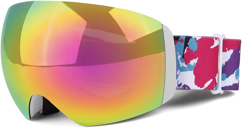 Ski Goggles for Men Women Youth,AntiFog, UV400 Predection,AntiGlare Ski Goggles,Suitable for Skiing Snowboarding Downhill Skis,White