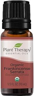 Plant Therapy Organic Frankincense Serrata Essential Oil 100% Pure, USDA Certified Organic, Undiluted, Natural Aromatherap...