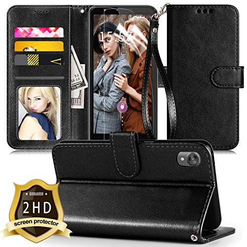 Moto E6 Leather Wallet Case by Innge