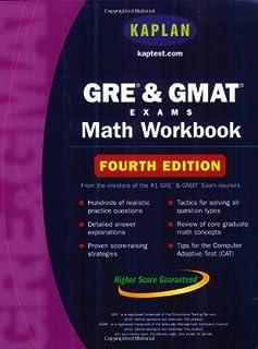 Kaplan GRE and GMAT Exams Math Workbook