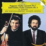 Paganini: Violin Concerto No. 1 / Saint-Saens: Violin Concerto No. 3