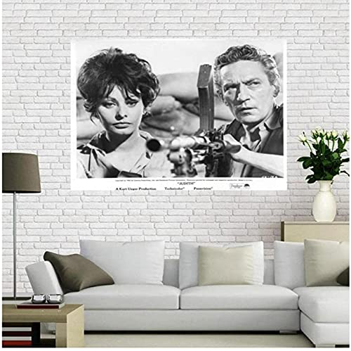 YUMKNOW Print On Canvas 15.7'x23.6' No Frame Beverly Garland Poster Film And Television Actors Star Posters And Prints Photo Portrait Pictures Home Decor
