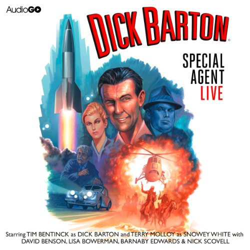 Dick Barton Live audiobook cover art