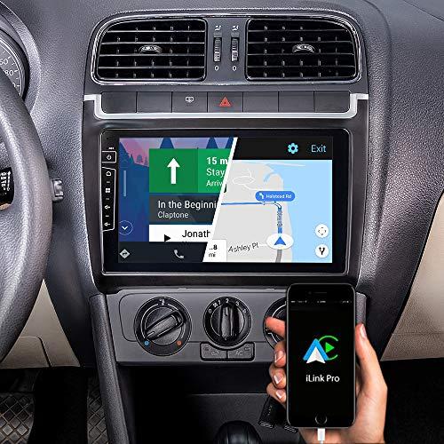 DYNAVIN Autoradio Navi für VW Polo V 6R 2009-2014, 9 Zoll OEM Radio mit Bluetooth, inkl. DAB+, USB, Kompatibel mit Carplay und Android Auto: DIX-V-69L Flex