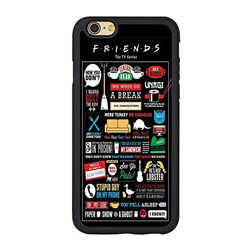 """Friends Tv Show Iphone 6s Case,Friends Tv Show Case for Iphone 6 6s 4.7"""" TPU Case"""