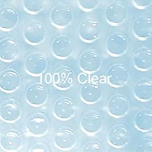 Doheny's 20 ft x 40 ft Rectangular Solar Cover-Clear Clear 16ML