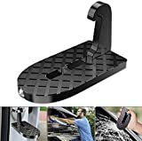 ANLEM Car Roof Rack Step,Multifunction Foldable Universal Car Roof Rack Step Car Door Step with Safety Hammer Non-Slip Prevent Scratches Pedal Ladder Access to Rooftop for Truck,SUV,RV,Off-Road