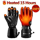 Best Heated Gloves - Heated Gloves for Men Women,Rechargeable 3.7V 7000mAh Battery,Electric Review