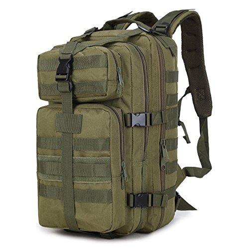 NANANANA 35L hombres mujeres al aire libre militar militar táctica mochila trekking deporte viaje mochilas camping senderismo pesca bolsas