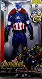 """12"""" Inch Super Hero action figure Toy Super Hero has Inbuilt Speech Sound effect, Press Button to listen Voice of your favourite Action Hero True to movie styling and updated power suit 3"""" 1.5V Alkaline Batteries Required, Batteries Included Collect ..."""