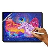 (2 Stück) Matte Bildschirmschutzfolie für Surface Pro 7. Generation/ Pro 6/ Pro 5/ Pro 4/ Pro LTE, Papier Textur Schutzfolie für Microsoft Surface, Zeichnen Skizzieren Schreiben Blendschutz Anti-Kratzer