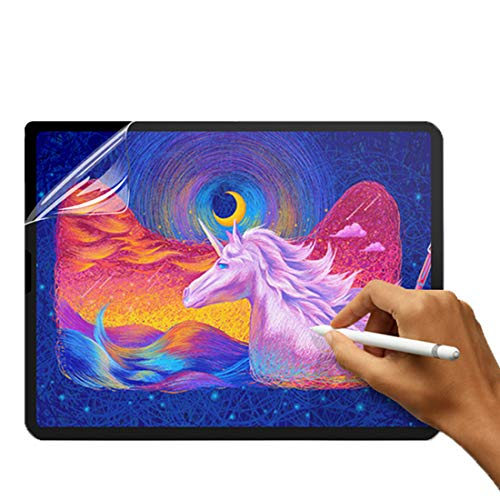 (2 Pieces) Matte Screen Protector for Surface Pro 7th Generation/Pro 6/Pro 5th/Pro 4/Pro LTE, Paper Texture Protective Film for Microsoft Surface, Drawing Sketching Writing Anti-Glare Anti-Scratch