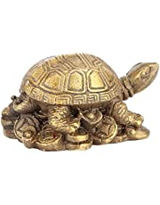 Messing Schildpad Schildpad Vorm Feng Shui Ornament Exquise Carving Feng Shui Gift Messing Sculptuur