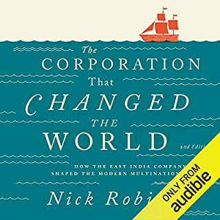 The Corporation That Changed the World audiobook cover art
