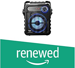 (Renewed) Zebronics Buddy Portable Speaker with Blutooth (Black)