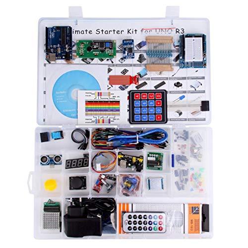 beIilan Stellige 7-Segment-Anzeige Projekt abgeschlossen ultimative Starter Tutorial Modul Starter-Kit Kit Tutorial kompatibel für Arduino UNO R3