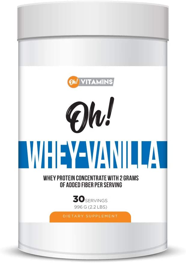 Selling rankings Oh Whey Creamy Vanilla Protein Popular brand in the world 30 Concentrate Servings