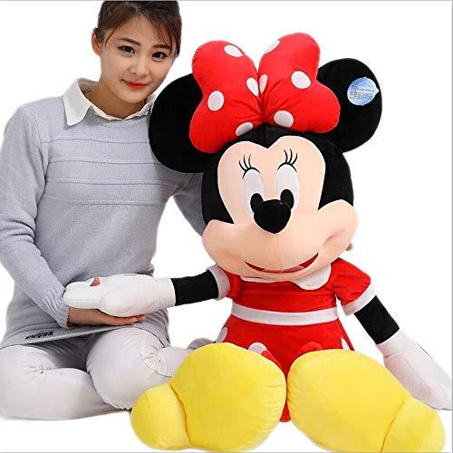 Knuffels Mickey Minnie Mouse Knuffels Poppen Verjaardag Kerstfeest Cadeaus voor kinderen Meisjes Kussen Slaapkamer Decor Pop,M1,80CM