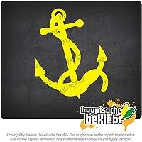 アンカー anchor 11cm x 9cm 15色 - ネオン+クロム! ステッカービニールオートバイ