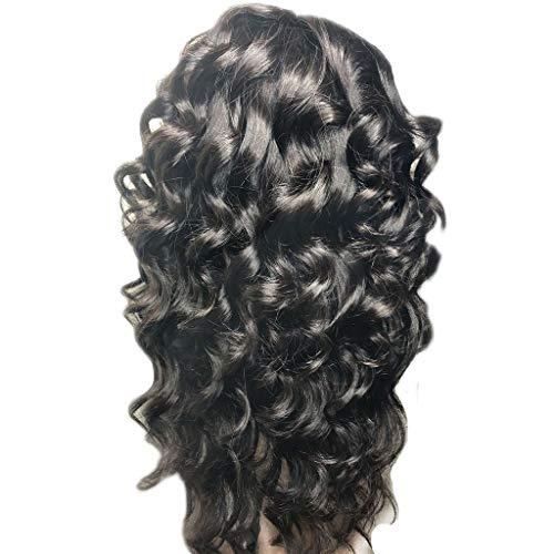 HLIYY Perruque ondulé femme naturelle brésilien perruques cheveux naturels pour black vrai cheveux bresilienne afro curly human hair wigs