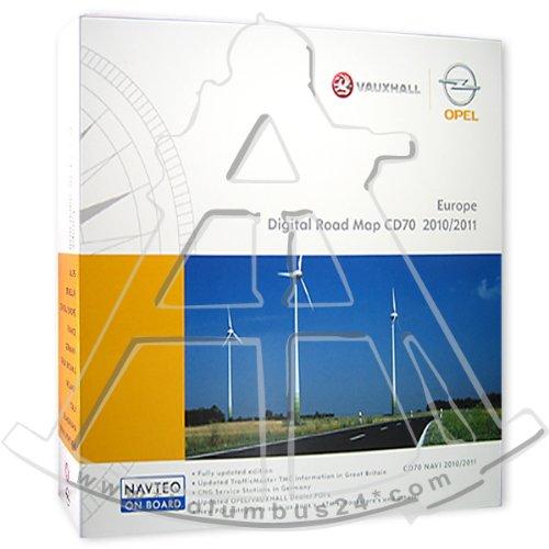 Europa CD Paket OPEL CD70 CD 70 2014/2015 NAVI CD Software Navigationssoftware Update