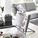 Recipe Book Stand Foldable Cookbook Stands Holders for Kitchen Counter,Portable Book Holder Stand for Reading...