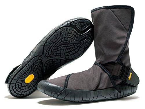 Vibram Fivefingers Furoshiki New Yorker Original–Invierno tauglicher wickels Chuh/Bar Soporte Zapatos, Negro