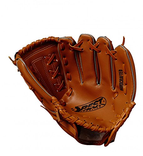 Best Sporting Baseballhandschuh braun-Natur aus Kunstleder, Größe Senior