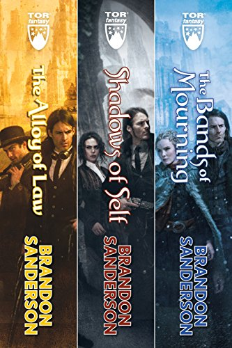 Mistborn: The Wax and Wayne Series: The Alloy of Law, Shadows of Self, The Bands of Mourning pdf epub