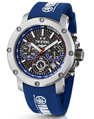 TW Steel Herren Analog Quarz Uhr mit Kautschuk Armband TW-926