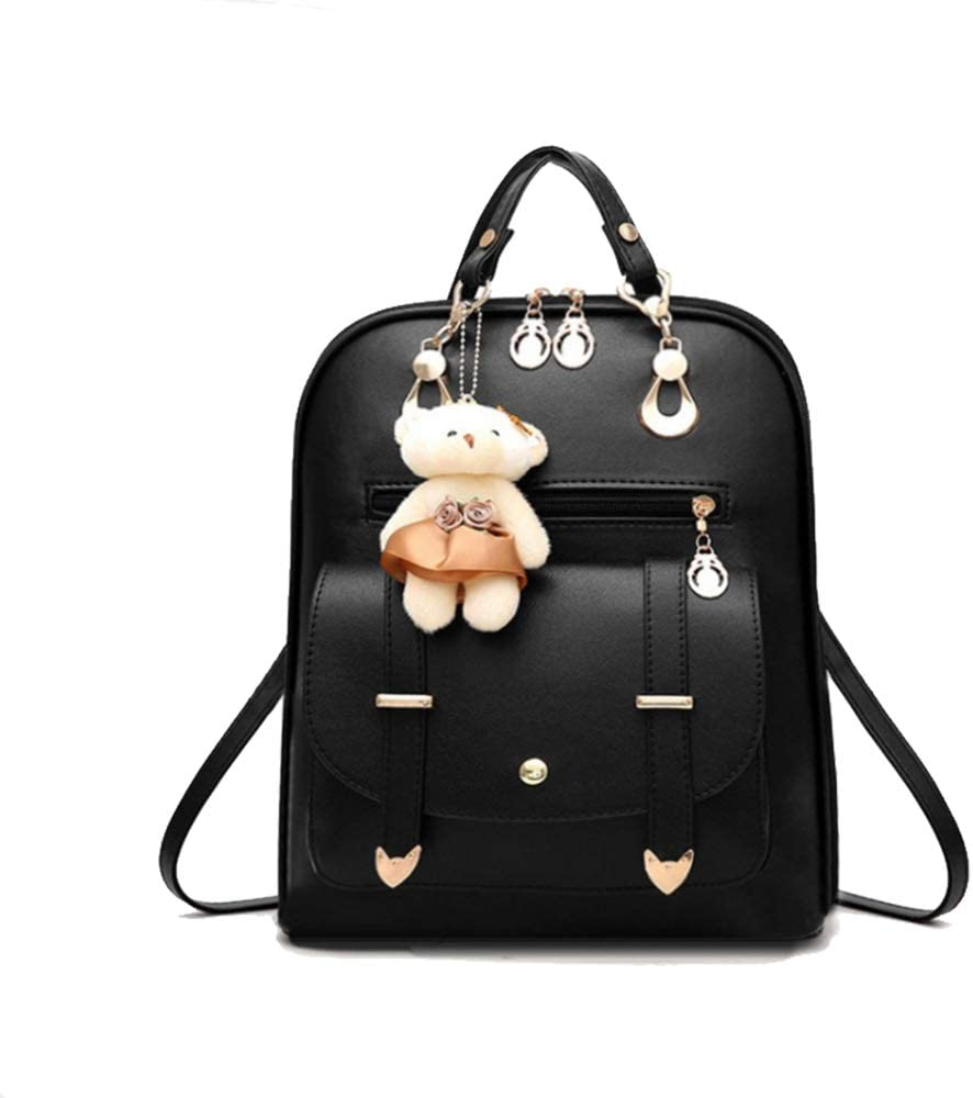 LTDH Girls Backpack PU Japan Maker New Shoulder Leather Ladies Cheap mail order specialty store