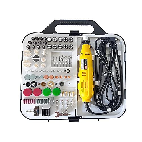 Micro retifica elétrica 127v Gravar Lixar Esmerilhar Velocidade Variável de 8000 até 32500r/min