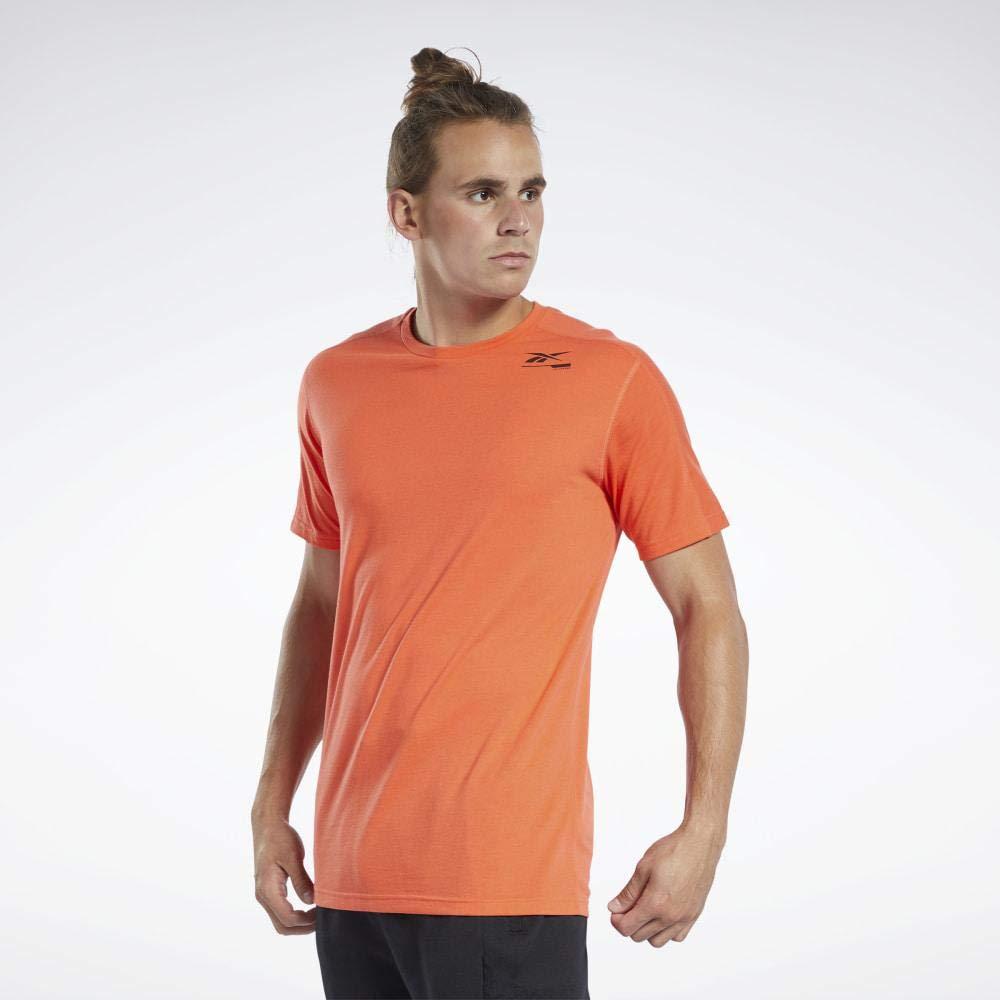 Reebok TS Speedwick Grphc Move Camiseta, Hombre, vivdor, XS: Amazon.es: Deportes y aire libre