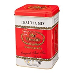 Thai Tea Mix No.1 Thai Tea Original (50 Sachets) Made in Thailand Tast very good Contain 50 Sachet Best seller for local tea in Thailand