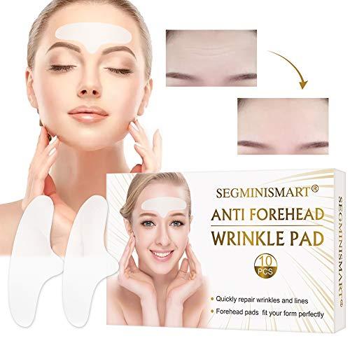 Facial Patches, Parches Faciales Antiarrugas, Parches Antiarrugas, Anti-Arrugas Parches, Antiarrugas Frente para hombres y mujeres, elimina las arrugas de cejas,10 PCS