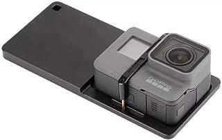 SYOSIN マウントプレートアダプタ Gopro Hero 3/4/5/6/7カメラ対応 スタビライザー 手持ちジンバルモバイルジンバルハンドヘルド用 スイッチマウントプレートZhiyun Smooth/Feiyu/DJI Osmo Mobileカメラモバイル アルミ合金製